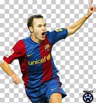 Andrés Iniesta FC Barcelona Fuentealbilla Spain National Football Team Football Player PNG