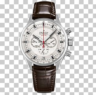Zenith Chronograph Watch Jaeger-LeCoultre TAG Heuer PNG