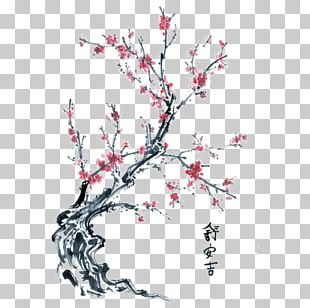 Drawing Cherry Blossom Tree PNG