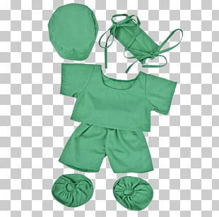 Green Outerwear Medical Glove Sleeve PNG