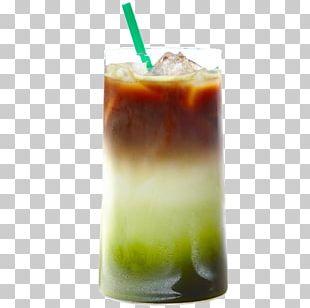 Matcha Espresso Latte Green Tea PNG