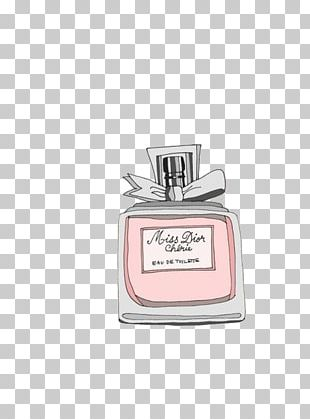 Perfume Chanel Fashion Illustration PNG