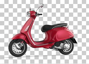 Scooter Vespa GTS Piaggio Motorcycle Accessories PNG