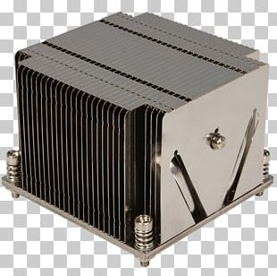Intel Heat Sink Computer System Cooling Parts Central Processing Unit Super Micro Computer PNG