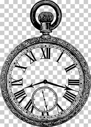 Pocket Watch Drawing PNG