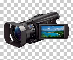 Sony Handycam HDR-CX900 Camcorder Video Cameras 1080p PNG