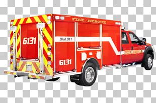 Fire Engine Fire Department Car Ford F-550 Truck PNG