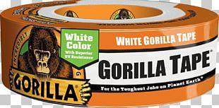 Adhesive Tape Gorilla Tape Gorilla Glue Duct Tape PNG