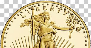 American Gold Eagle Gold As An Investment Bullion Coin PNG
