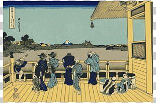 Ukiyo-e Japanese Art Woodblock Printing In Japan PNG
