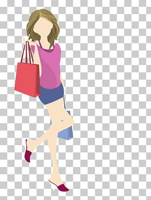 Woman Handbag Illustration PNG