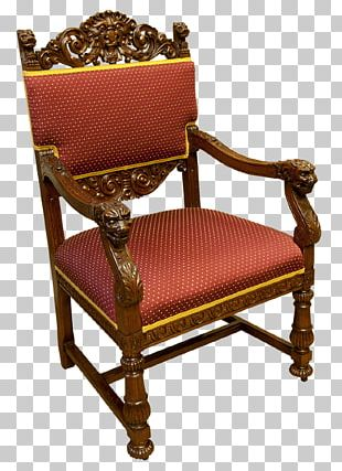 Chair Antique Furniture Throne PNG