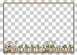 Frames Christmas Ornament Pattern PNG