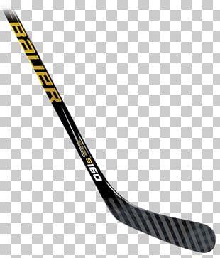 Hockey Sticks Bauer Hockey Ice Hockey Stick Ice Hockey Equipment PNG