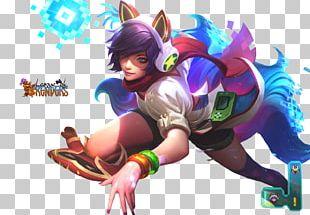 League Of Legends Ahri Arcade Game Riot Games Amusement Arcade PNG