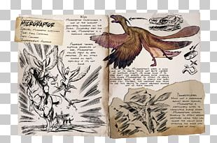 ARK: Survival Evolved Microraptor Pteranodon Dinosaur Giganotosaurus PNG