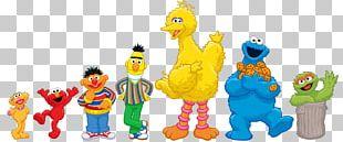 Big Bird Elmo Sesame Street Characters PNG
