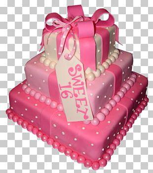 Birthday Cake Wedding Cake Cupcake Sweet Sixteen PNG