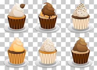 Cupcake Muffin Petit Four Cream PNG