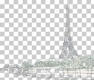 Eiffel Tower Sacré-Cœur PNG