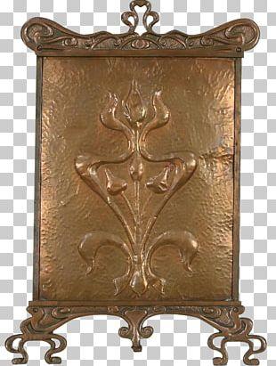 Fire Screen Fireplace Furniture Decorative Arts Copper PNG