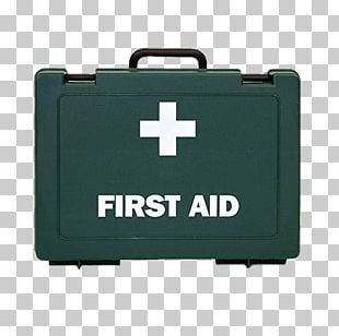 Green First Aid Kit Box PNG