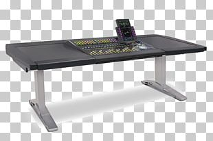 Standing Desk Table Recording Studio System Console PNG