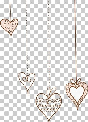 Locket Necklace Body Jewellery Line PNG