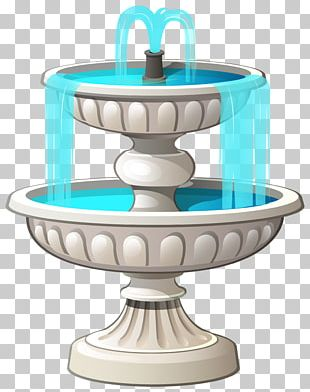 Drinking Fountains Garden PNG