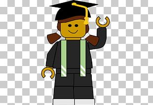 Graduation Ceremony Graduate University Lego Minifigure Square Academic Cap PNG