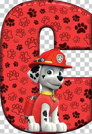 Dalmatian Dog Alphabet Letter Patrol Birthday PNG