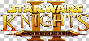 Star Wars Knights Of The Old Republic II: The Sith Lords Star Wars: Knights Of The Old Republic Star Wars: The Old Republic Logo Game PNG