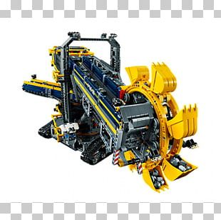 Bucket-wheel Excavator Lego Technic PNG