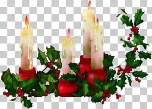 Candle Christmas PNG