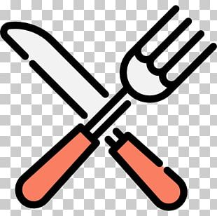 Knife Fork Cutlery Kitchen Utensil Icon PNG
