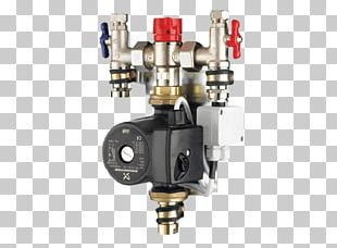 Underfloor Heating Thermostatic Mixing Valve Heating System Hydronics PNG