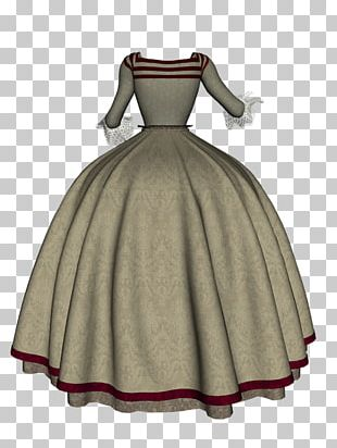Gown Cocktail Dress Costume Design PNG