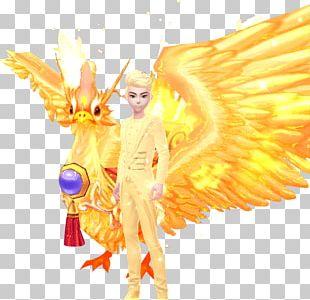 Fairy Desktop Computer Figurine PNG