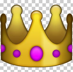 IPhone Emoji Social Media Sticker Crown PNG