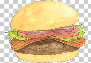 Cheeseburger Veggie Burger Hamburger Breakfast Sandwich Bacon PNG