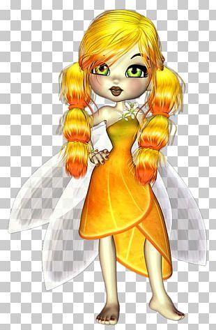 Fairy Human Hair Color Costume Design Cartoon PNG