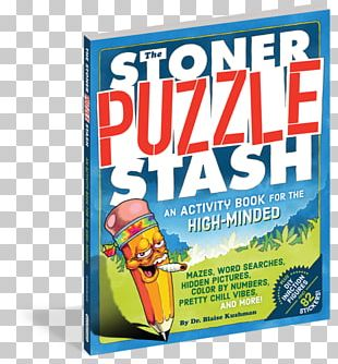 The Stoner Puzzle Stash: A Coloring And Activity Book For The High-Minded Cannabis Coloring Book Stoner Film PNG