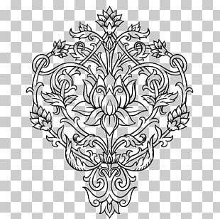 Coloring Book Tattoo Mehndi Adult PNG
