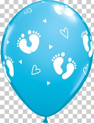 Mylar Balloon Baby Shower Party Infant PNG