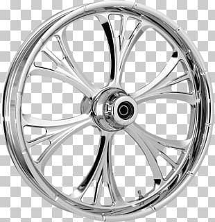 Alloy Wheel Spoke Custom Motorcycle Bicycle PNG