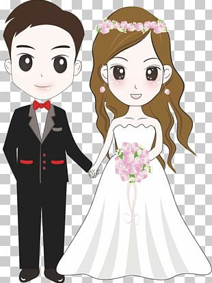 Bridegroom Wedding Illustration PNG