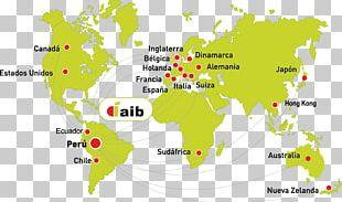 Globe World Map Illustration PNG