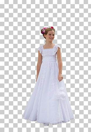 Wedding Dress Bride Girl Child PNG