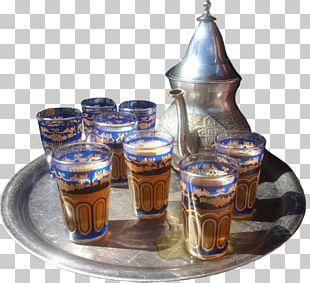 Maghrebi Mint Tea Moroccan Cuisine Morocco Glass Bottle PNG