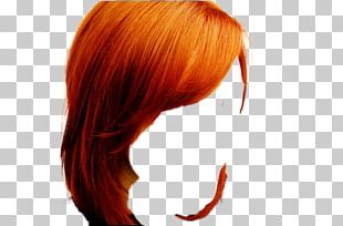 Layered Hair Step Cutting Hair Coloring PNG